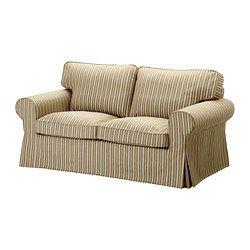 EKTORP Divano a 2 posti - Linghem marrone chiaro/riga - IKEA 489 € Misure del prodotto Larghezza: 179 cm Profondità: 88 cm Altezza: 88 cm Profondità sedile: 49 cm Altezza sedile: 45 cm