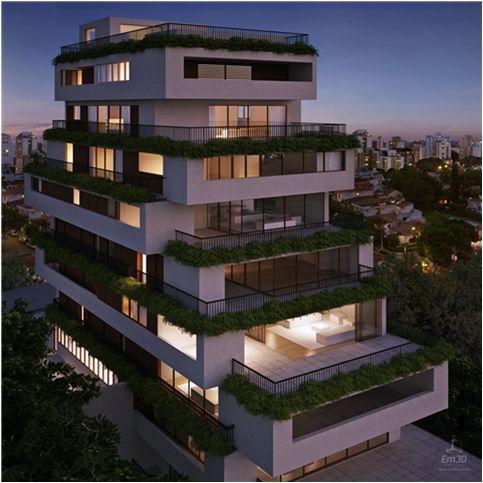 Rodrigo Oliveira Paisagismo | www.rodrigooliveirapaisagismo.com.br Edifício OKA Idea Zarvos Arquitetura Isay Weinfield
