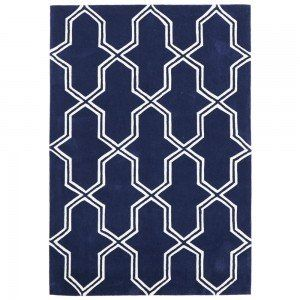 Hand Tufted & Carved Mo Rug