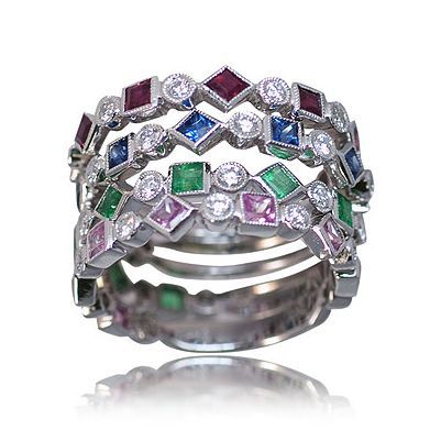 I'm posting one additional spectacular colored gemstone ring - Parris Jewelers #gemstonering