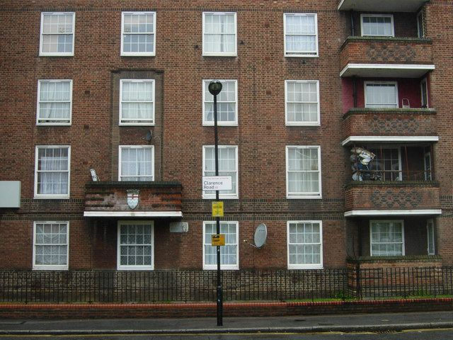 Pembury Estate The Pembury Estate A Small Part Of Which Facing