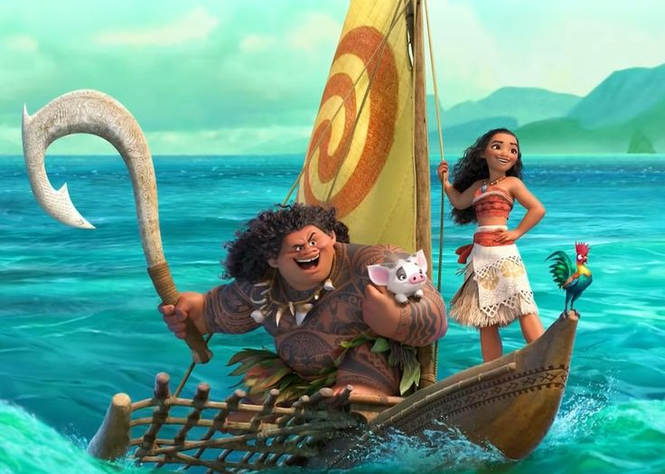 Trailer➡️Moana Walt Disney Animation Studios (The page is in Spanish but the trailer is in English)