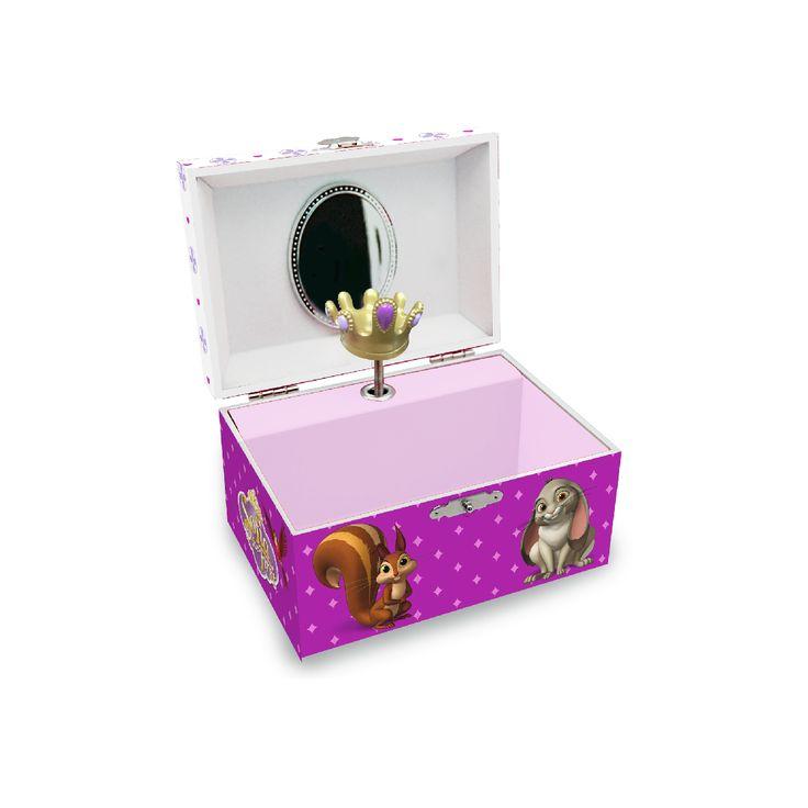 Caixa de Música Princesa Sofia Ref.ª ES16021