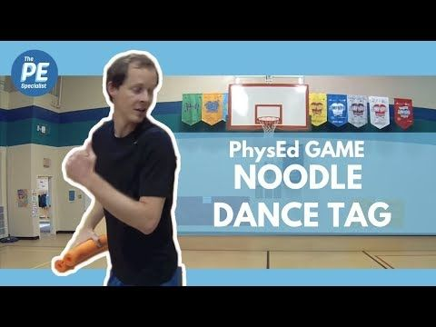 Physical Education Game – Noodle Dance Tag – YouTube