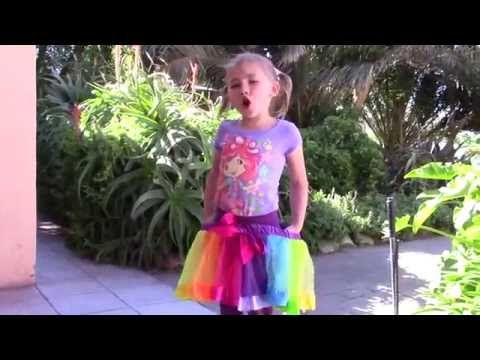 Rainbow Tutu for Girls Review | Kaboutjie