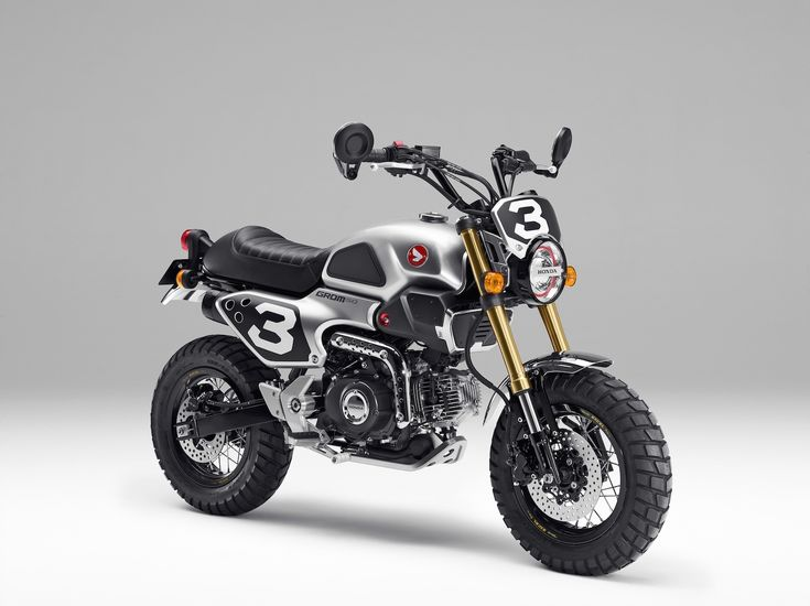 custom honda grom 50 / 125 scrambler / msx concept motorcycles