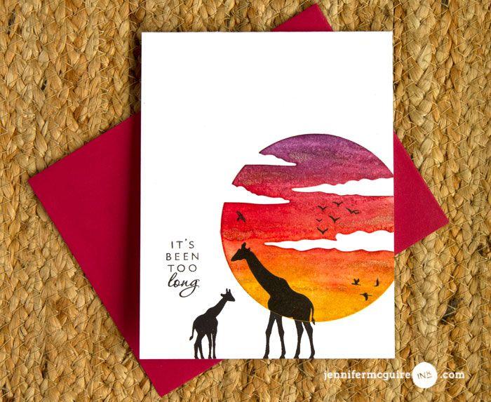 Wrapped Watercolor + Blog Hop + GIVEAWAY - Jennifer McGuire Ink