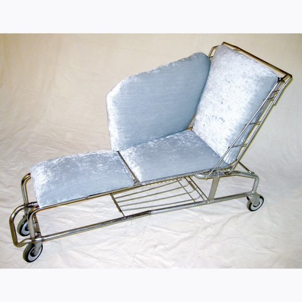 Shopping Cart Chaise lounge chairs, rustbelt rebirth