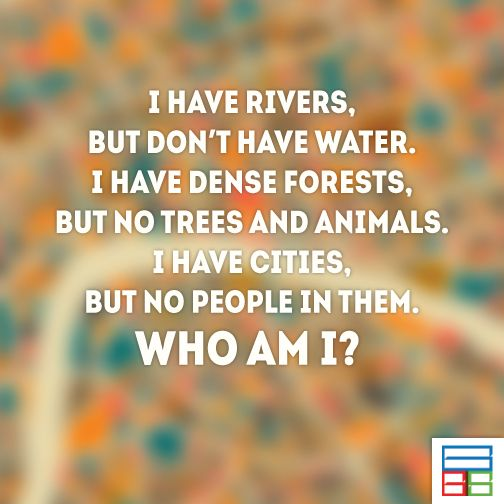 People call me MAP.  #Riddles #Kids #Knowledge #Brain