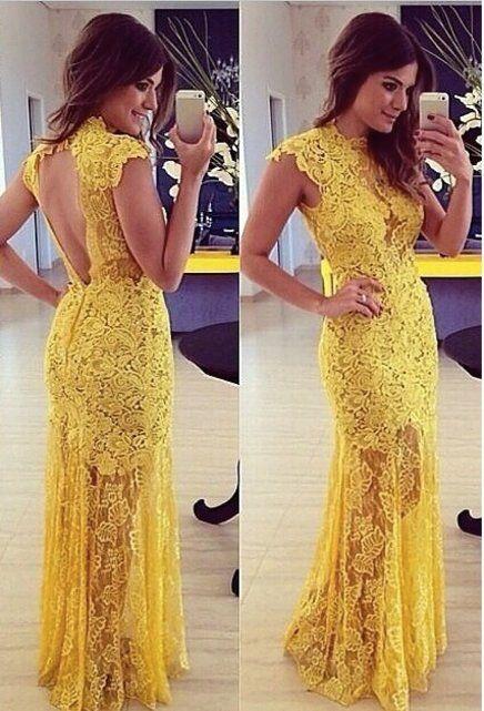vestido longo de renda - Pesquisa Google