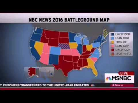 A MUST SEE - MSNBC - Rachel Maddow and her looney presidential predictions. Wait for it... - YouTube