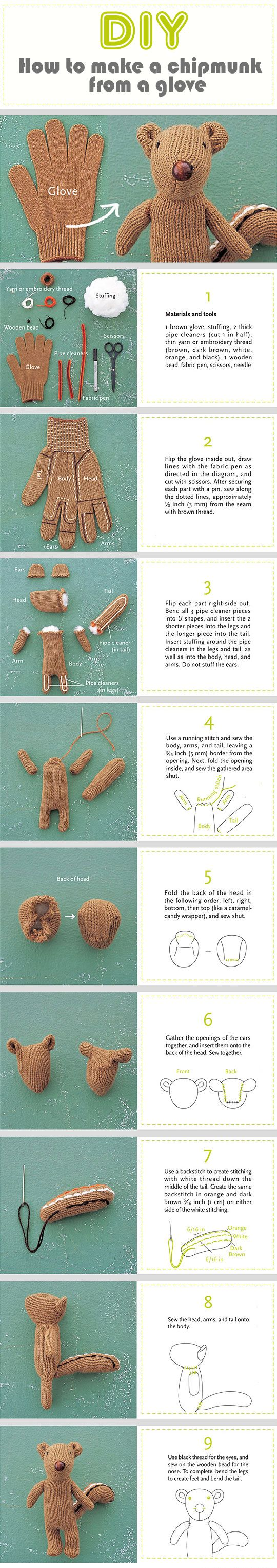 DIY Chipmunk Pictures, Photos, and Images for Facebook, Tumblr, Pinterest, and Twitter