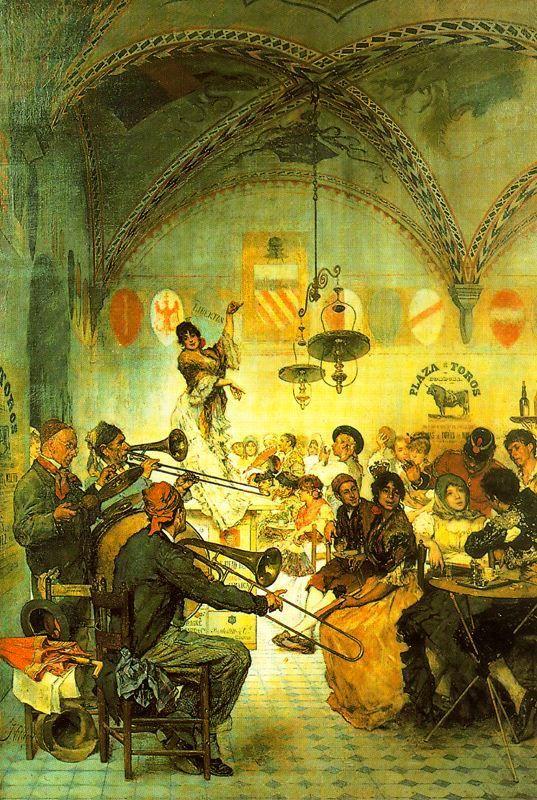 241 best pintura espa ola images on pinterest oil on - Talleres cano madrid ...