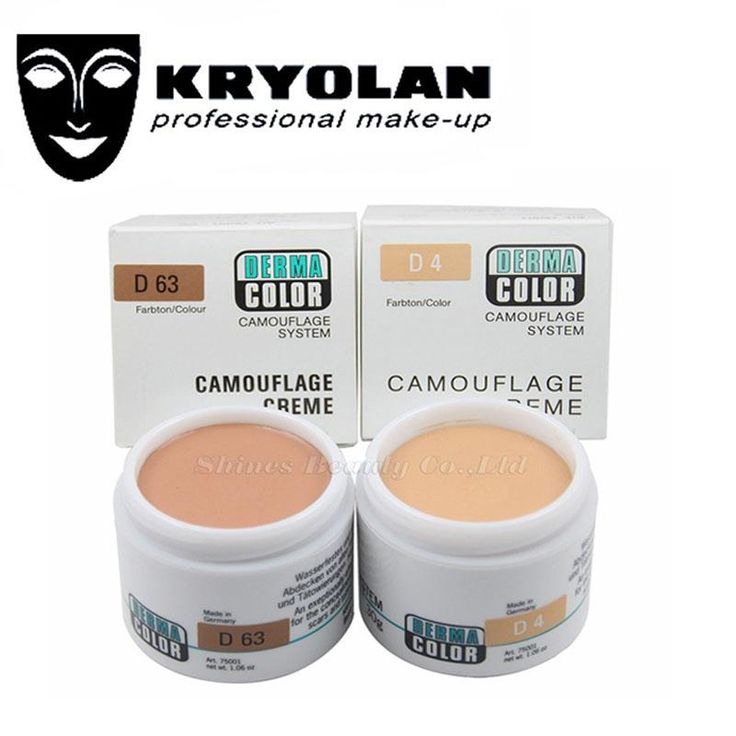 [Visit to Buy] Kryolan German professional brand Dermacolor Camouflage Creme 30G Highly Pigmented Makeup Cover Face Concealer Cream Palette #Advertisement