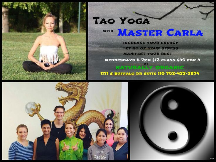 We here at Naturally Organic Healing Center would love to introduce you all to one of our #fantastic teachers, Carla Nakatani! She is a very skilled #Tao #Yoga instructor with many years of experience. She gives a full experience in everyone one of her classes with #meditation, yoga stretches, #tapping techniques and is always full of #energy! If you want to take her class, come on down Wednesdays from 6-7pm for an experience to remember!