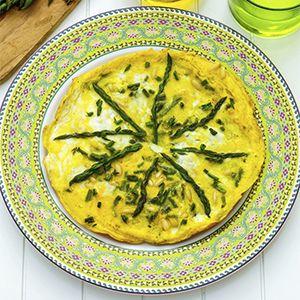 Asparagus and Pine Nut Frittata