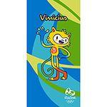 Rio 2016 Olympic Games Mascot Vinícius Bath Towel – Blue