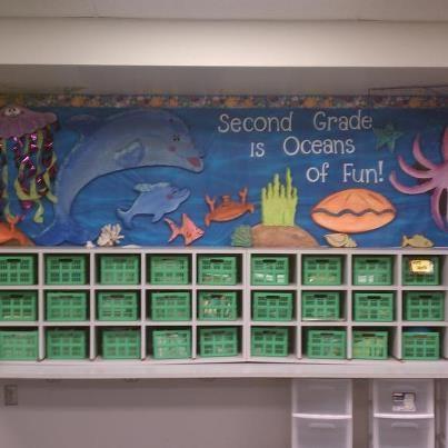 Second grade is oceans of fun!