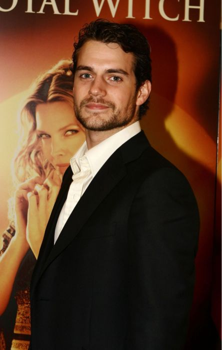 Henry Cavill at the premiere of Stardust.