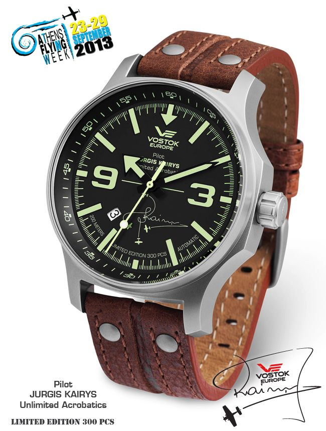 Vostok-Europe Jurgis Kairys Special Limited Edition