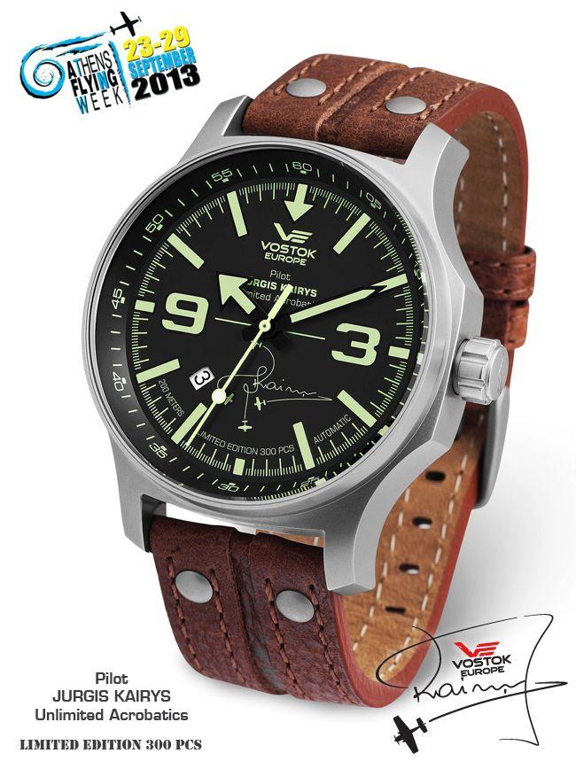 Vostok-Europe Jurgis Kairys Special Limited Edition