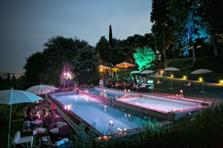 Exclusive use of Il Salviatino Luxury Hotel Florence - Pool party