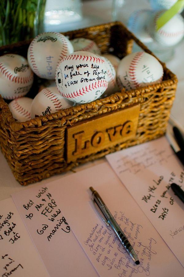 Baseball Signing Guestbook