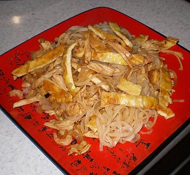 Рисовая лапша по-тайваньски
