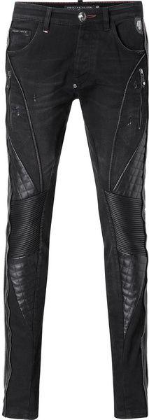 Мужские джинсы, зауженные Philipp Plein — 4shopping v3.0