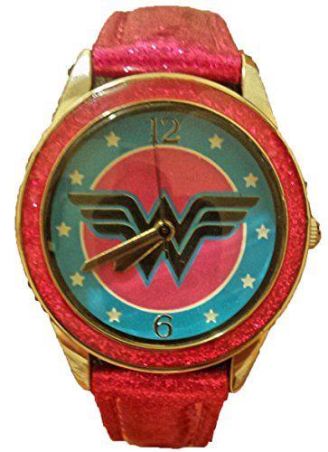 Wonder Woman Hot Pink Leather Watch WOW5003 Wonder Woman https://www.amazon.com/dp/B00SLVKCKI/ref=cm_sw_r_pi_dp_x_mb4Izb5S5ARH3