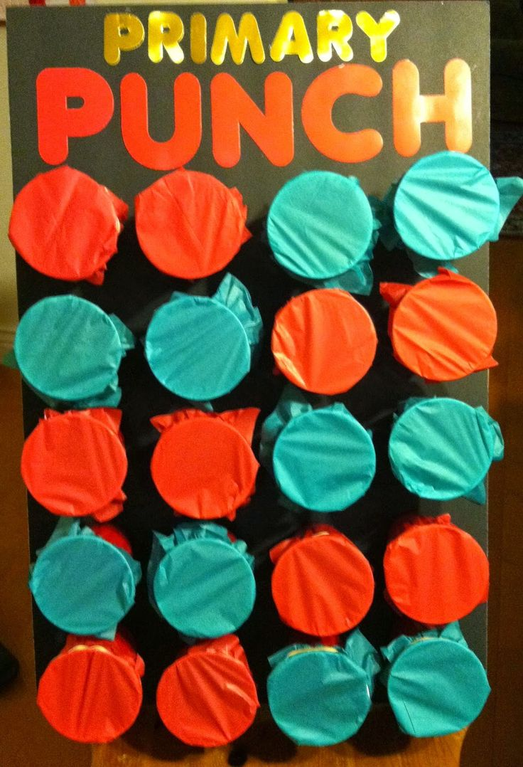 Punch Game I love this! We can use this game for everything from chores to material review.  The girls are going to eat it up. :-)