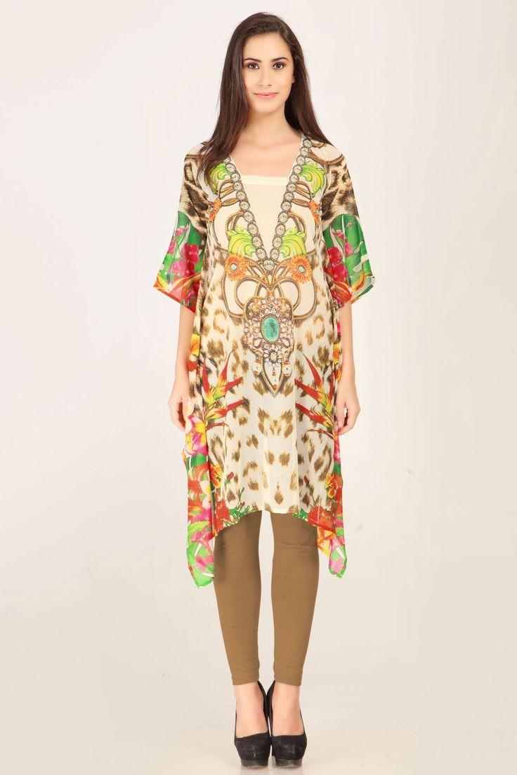 #kaftan #fusion #ethinicwear #caftan #tunic #digitalprint #discount Shop Now: www.admyrin.com