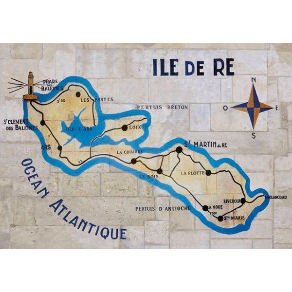Les 25 meilleures id es de la cat gorie carte ile de r sur pinterest ibiza espagne ibiza et - Ile de re lieux d interet ...