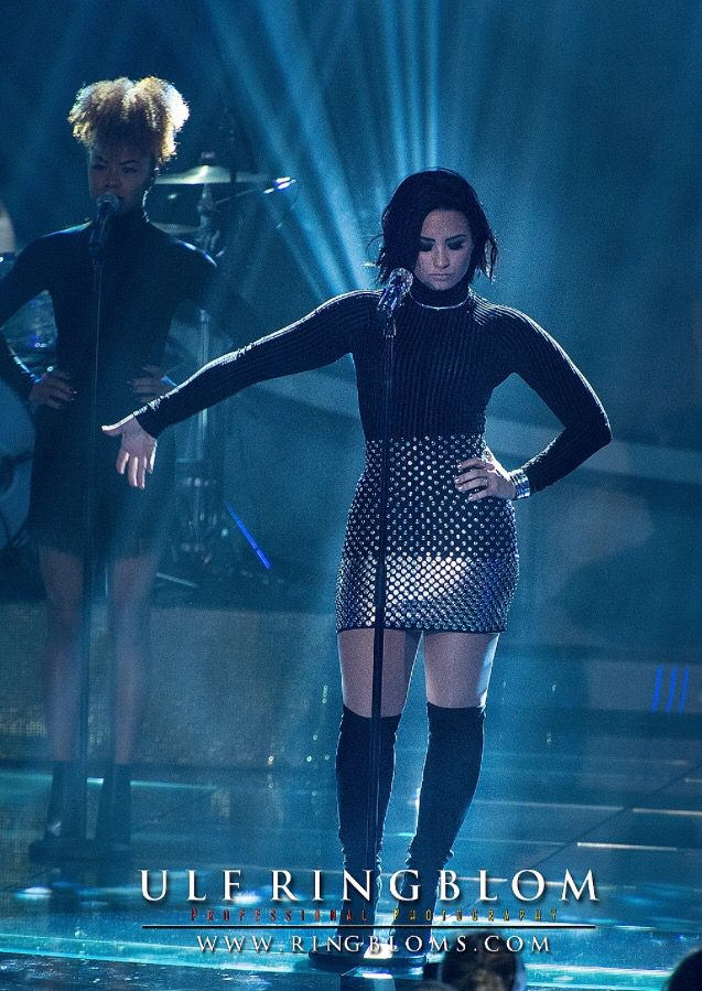 Demi Lovato in Swedish Idol 2015.   Follow the Idol blog live at www.idol.Ringbloms.com   Ringblom Media Photography Sweden Copyrights All Right Reserved - 2015 www.Ringbloms.com  Pix for commercial use by e-mail to info@ringbloms.com  #DemiLovato  #IdolSe  #stockholm  #Sweden  #tv4
