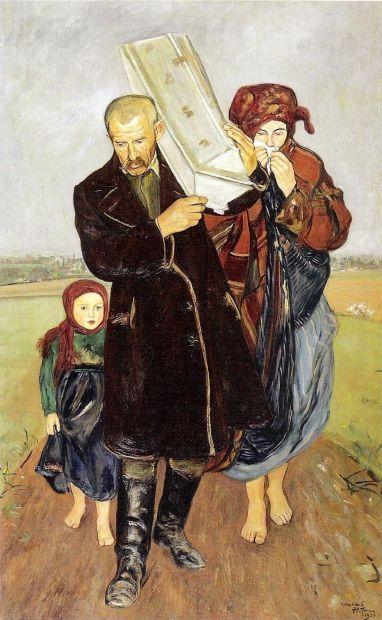 Vlastimil Hofman (1881 – 1970, Polish) God Gave, God Took