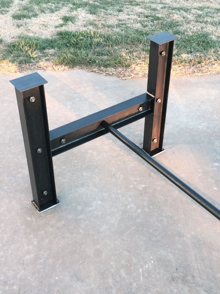 Custom Made I Beam Table Base