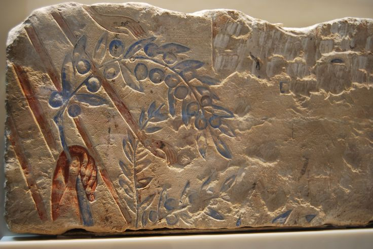 https://flic.kr/p/d8Axgj | Offer to Aten | Akhenaten offers an olive branch to Aten. 18th Dynasty, Amarna. 1981.449  Neues Museum.