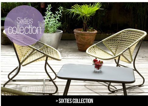 Sixties Collection Fermob French Outdoor Furniture