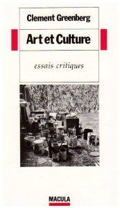greenberg art and culture critical essays