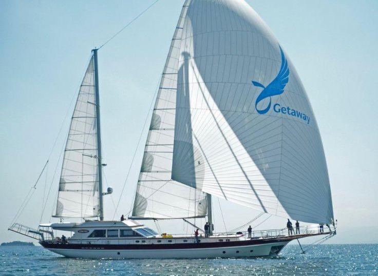 Deluxe sailboats | getaway gulet sailboat is a high class yacht