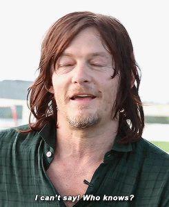 "reedusnorman: """"Daryl Dixon after season six, walking or dead?"" """