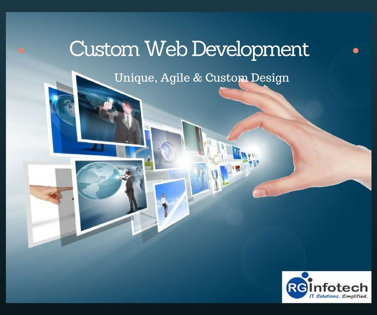 At RG Infotech, we trust the uniqueness of your business prospects. We design custom web development solutions for all your web development needs. Contact us for reliable, customized and user-friendly web development solution