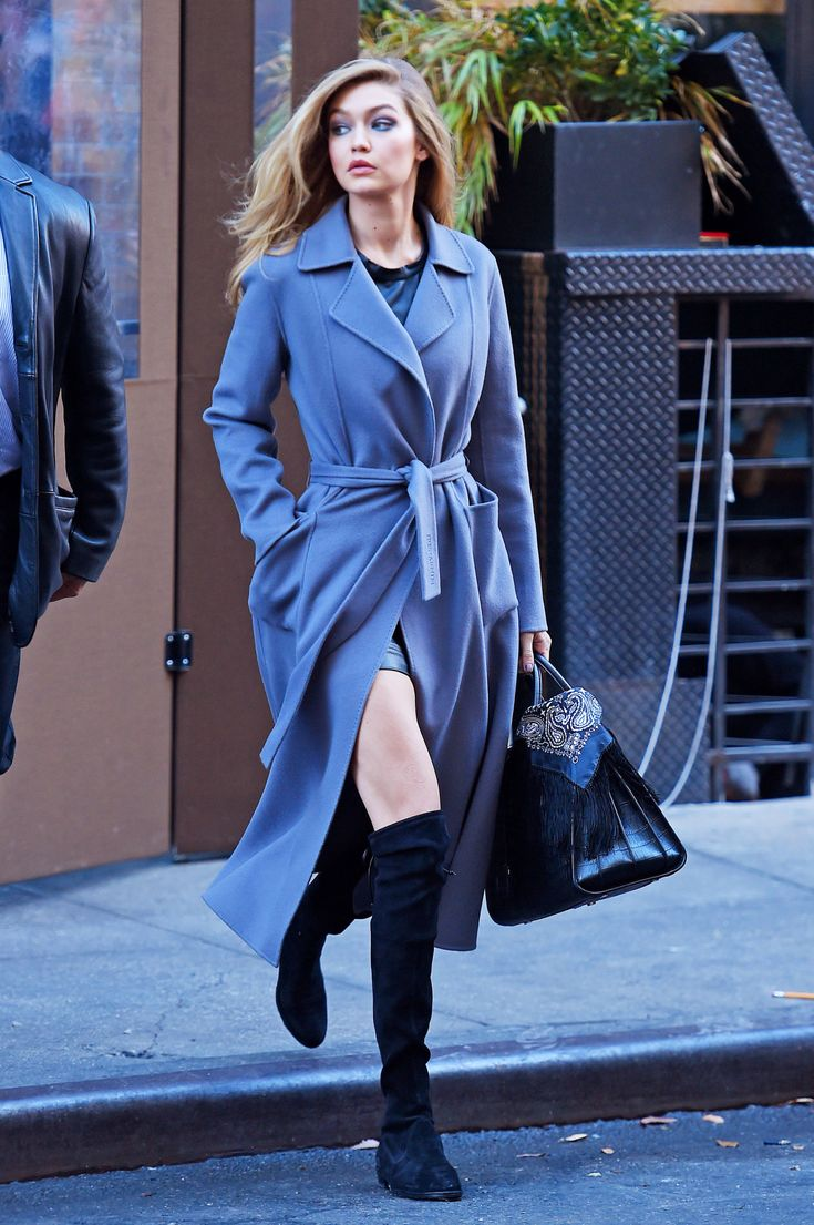 Gigi Hadid Masters the Art of the Perfect Just-Dropping-By-Your-New-Fling's-Apartment Look - MarieClaire.com