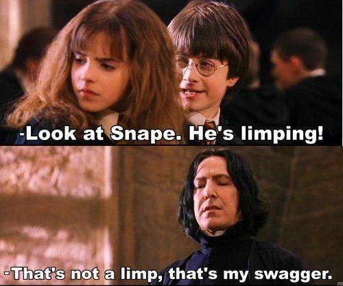Hahaha swag. Twitter @_Snape_