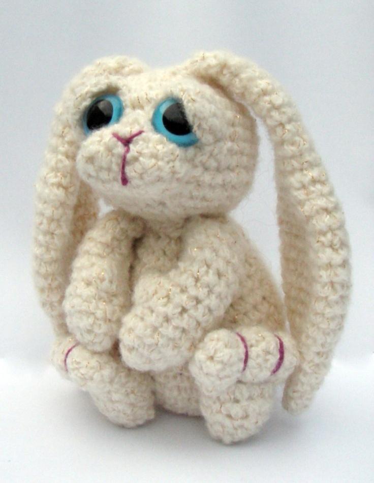 Bunny Rabbit Amigurumi Crochet Pattern PDF Instant Download - Bramble
