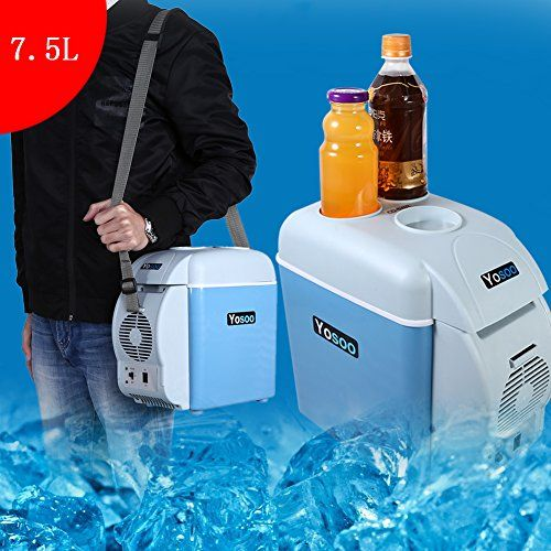 buy now   £29.99  Specification: Capacity: 7.5L Color: Blue Power Rating: 35W Rated Input Voltage: 12V Min. cooling temperature: cooler to 5°C Max. heating temperature:  ...Read More