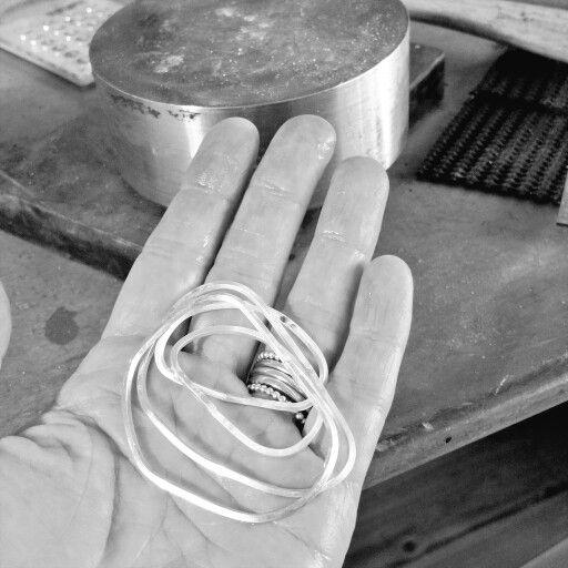 Earrings in the making... www.julesread.com.au