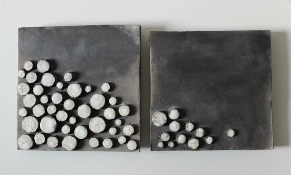 Raku ceramic tiles - ceramic wall art sculpture- raku picture cm.18x18 on Etsy, $123.92 AUD