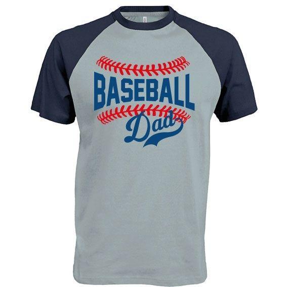 Honkbal t-shirt Baseball Dad bij vanSHIRTJEtotSHIRTJE