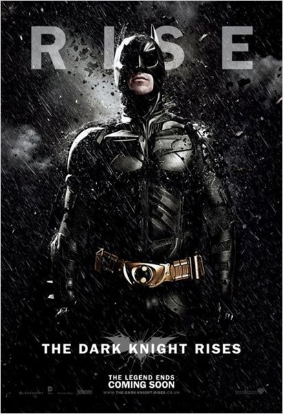 Cartel El Caballero Oscuro: La leyenda renace  #Sensacine #TheDarkKnightRises   #ChristianBale